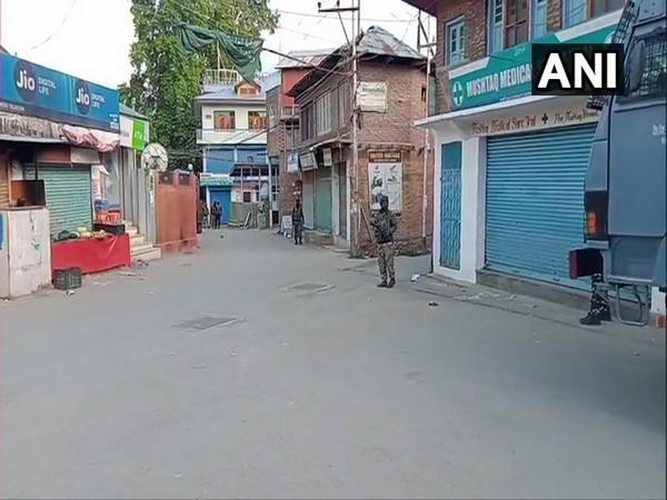 A visual from Tral in Jammu and Kashmir's Pulwama. [Photo/ANI]