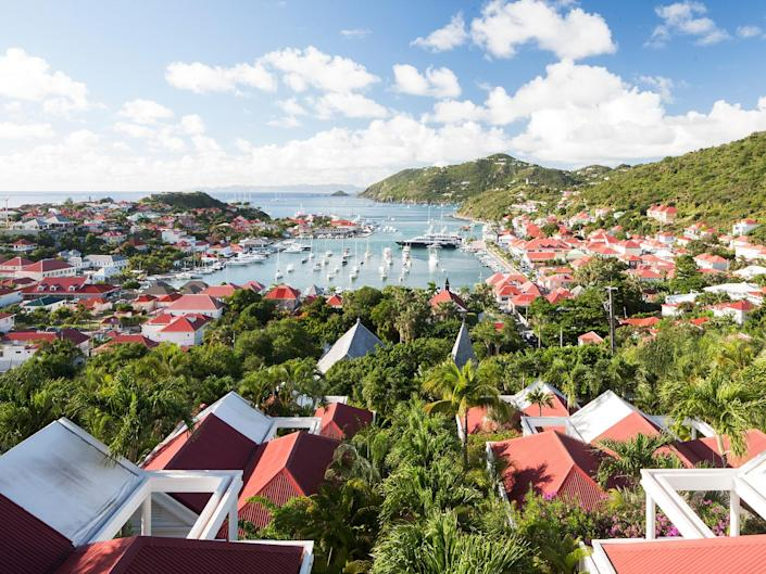 """Come hungry to <a href=""""https://www.cntraveler.com/story/falling-in-love-with-st-barts-all-over-again?mbid=synd_yahoo_rss"""" rel=""""nofollow noopener"""" target=""""_blank"""" data-ylk=""""slk:St. Barts"""" class=""""link rapid-noclick-resp"""">St. Barts</a> this November, when the island hosts its eighth annual <a href=""""http://saintbarthgourmetfestival.com/en/us/"""" rel=""""nofollow noopener"""" target=""""_blank"""" data-ylk=""""slk:Gourmet Festival"""" class=""""link rapid-noclick-resp"""">Gourmet Festival</a> from November 10-14. A collection of 11 French chefs with Michelin-starred restaurants will cook and host a series of exclusive dinners, as well as wine-tastings and amateur cooking competitions. Another huge reason to visit the Caribbean island is the eternally chic <a href=""""https://www.cntraveler.com/hotels/saint-barthelemy/gustavia/eden-rock-st-barths?mbid=synd_yahoo_rss"""" rel=""""nofollow noopener"""" target=""""_blank"""" data-ylk=""""slk:Eden Roc"""" class=""""link rapid-noclick-resp"""">Eden Roc</a> hotel, which continues to be a favorite among our readers and editors. Fresh off a 2020 renovation, the property boasts suites with private plunge pools, views of the impossibly blue ocean, and some of the most spacious bathrooms you've ever seen. Just one night here will make you feel like the most glam, sun-kissed version of yourself."""