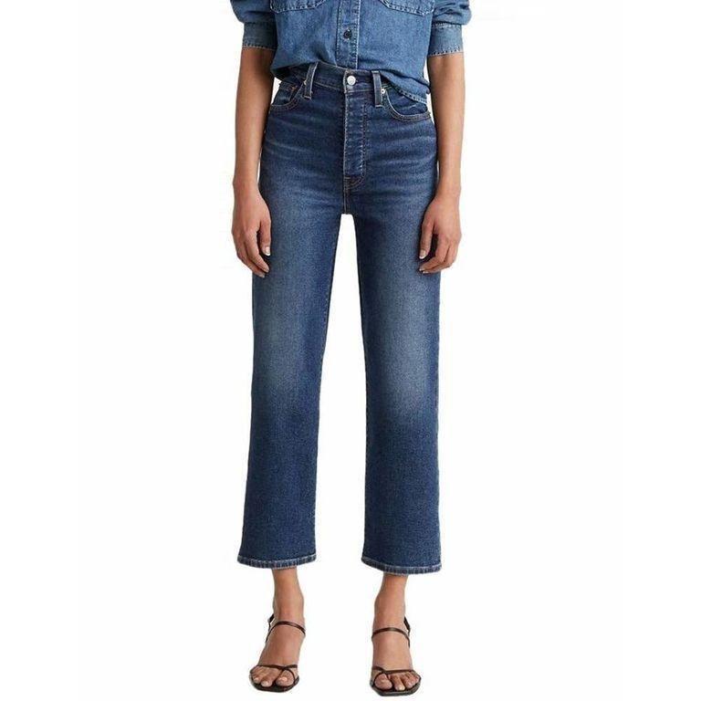 """<p><strong>Levi's</strong></p><p>amazon.com</p><p><a href=""""https://www.amazon.com/dp/B081YWNSZC?tag=syn-yahoo-20&ascsubtag=%5Bartid%7C10072.g.36804130%5Bsrc%7Cyahoo-us"""" rel=""""nofollow noopener"""" target=""""_blank"""" data-ylk=""""slk:Shop Now"""" class=""""link rapid-noclick-resp"""">Shop Now</a></p><p>Pair these Gen Z-approved straight legs with your favorite going-out top at night or a silk blouse for a smart casual office look. </p>"""