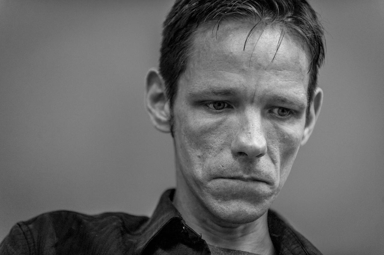 <p>Jack Barrett, a recovering heroin addict, attends group therapy at Groups in Middletown, Ohio. He credits this treatment center with saving his life.<br /> (Photograph by Mary F. Calvert for Yahoo News) </p>