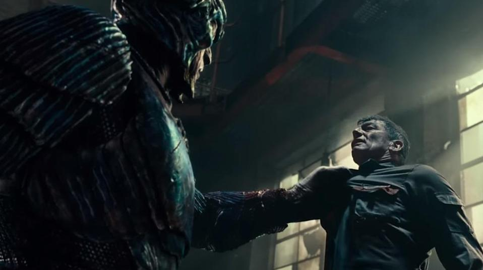 Steppenwolf ( Ciarán Hinds), the villain of 'Justice League' (credit: Warner Bros)