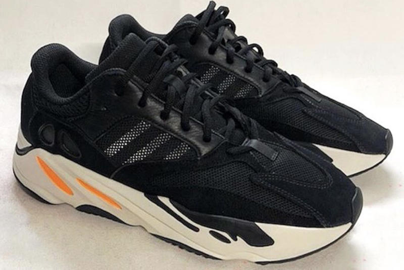 See What Kanye West's Adidas Yeezy Boost 700 Wave Runner Sneakers Look Like in Black