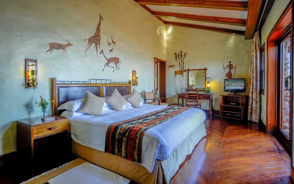 Paul Joynson-Hicks/Courtesy of Ngorongoro Serena Safari Lodge