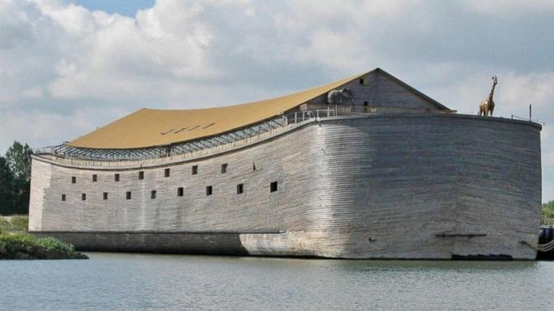 Builders of Noah's Ark 'Replica' Hope to Sail From Holland to Brazil