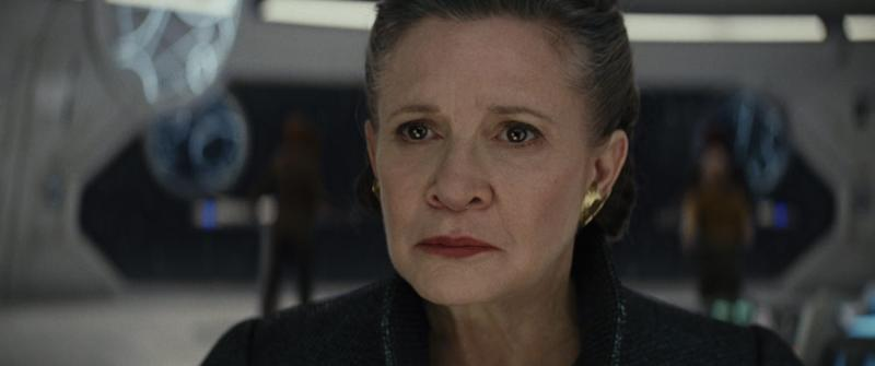 "There's a very specific reason ""The Last Jedi"" didn't do *that* with General Leia"