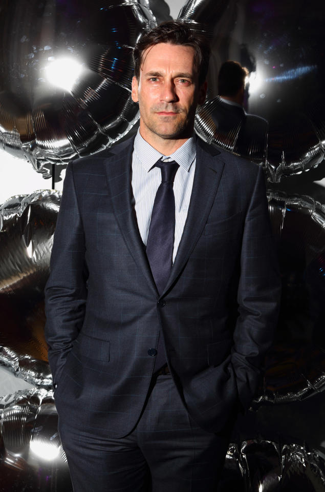LONDON, ENGLAND - JUNE 15:  Jon Hamm attends the Esquire & Mr Porter London Collections: Mens Party at Corinthia Hotel London on June 15, 2012 in London, England.  (Photo by Mike Marsland/WireImage)