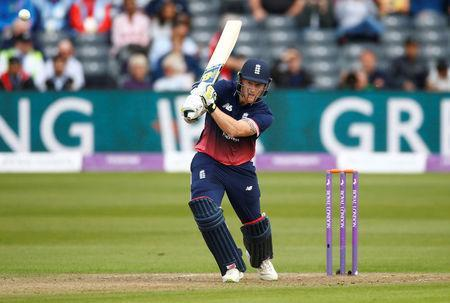 FILE PHOTO - Cricket - England vs West Indies - Third One Day International - Brightside Ground, Bristol, Britain - September 24, 2017 England's Ben Stokes in action Action Images via Reuters/Peter Cziborra