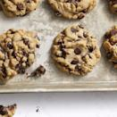 "<p>Who can resist the most classic dessert of all? Instead of using vegan butter, a simple pantry staple—canola oil—makes these chocolatey baked goods so easy to make. <br></p><p><em><a href=""https://www.goodhousekeeping.com/food-recipes/dessert/a30172161/vegan-chocolate-chip-cookies-recipe/"" rel=""nofollow noopener"" target=""_blank"" data-ylk=""slk:Get the recipe for Vegan Chocolate Chip Cookies »"" class=""link rapid-noclick-resp"">Get the recipe for Vegan Chocolate Chip Cookies »</a></em> </p><p><strong>RELATED: </strong><a href=""https://www.goodhousekeeping.com/food-recipes/dessert/g32815642/fall-cookies/"" rel=""nofollow noopener"" target=""_blank"" data-ylk=""slk:45 Tasty Fall Cookies to Get You in the Pumpkin Spice Spirit"" class=""link rapid-noclick-resp"">45 Tasty Fall Cookies to Get You in the Pumpkin Spice Spirit</a> </p>"