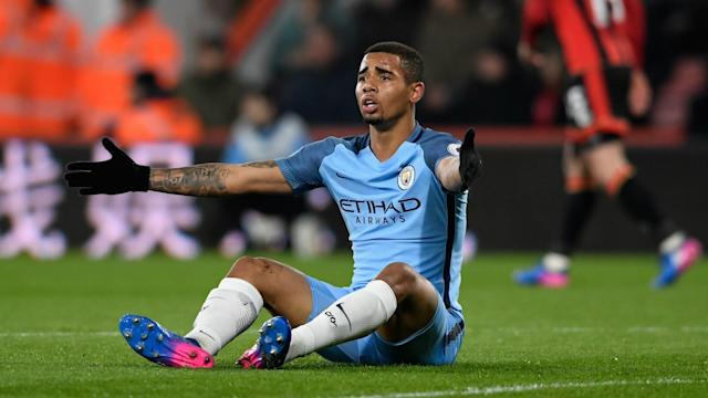 Gabriel Jesus had successful surgery on his foot in Barcelona but Pep Guardiola is unsure if he will return this season.