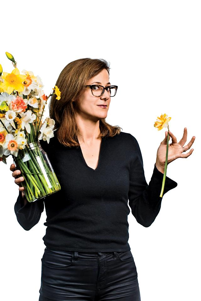 """<p><em>The author, Jane Borden, whose grandmother was a talented daffodil competitor and judge, tries to carry the family torch.</em></p> <p>The day before the 2017 show, the musty-sweet smell of cut daffodils filled the Hampton Roads Convention Center. The exhibitors hurriedly prepared their gardens' best specimens for judging. Above the din of Virginia accents clanked the sound of a vase hitting the floor. The room gasped—had a prized bloom just been crushed along with its grower's dream of glory? A voice shouted, """"Don't worry; it was empty!"""" The busy crowd then returned to work.</p> <p>A daffodil-show exhibitor in the 1950s, my grandmother Louisa Harris Tucker regularly brought home blue ribbons. I inherited a silver-platter prize that was once bestowed on her by the <a rel=""""nofollow"""" href=""""https://www.gcvirginia.org/"""">Garden Club of Virginia (GCV)</a>. Still, I never thought to ask her what in the world a competitive daffodil show was. So, I went to the annual GCV show to find out.</p> <p>Imagine a test tube standing up inside a little wooden block and containing one cut daffodil stem. Now, picture 1,713 of these, all placed on long black risers in groupings based on (generally) shape, size, and color. At the start of competition, everyone must leave the room, save for judges—six teams of three each—who wander around with clipboards in hand, inspecting every stem by pulling their eyeglasses up or down, depending on the prescription. That's the simplest explanation. But, as I learned, the real event happens behind the scenes.</p> <p>This GCV show, which is affiliated with the <a rel=""""nofollow"""" href=""""https://daffodilusa.org/"""">American Daffodil Society (ADS)</a>, is often the second largest in the nation, next to the ADS national show. The local ADS chapter in Virginia—and, for that matter, in Maryland, Tennessee, Georgia, and so on—also hosts an annual daffodil show. Because the <a rel=""""nofollow"""" href=""""https://www.southernliving.com/home-garden/gardens/daffodil-bu"""