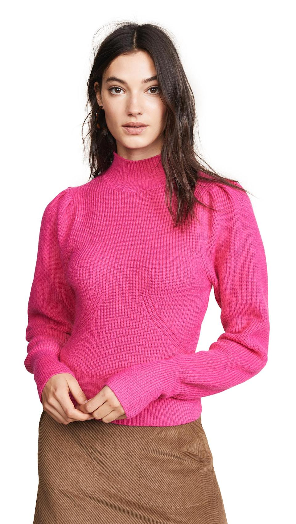 Astr the Label Puff Sleeve Sweater (Photo: Shopbop)