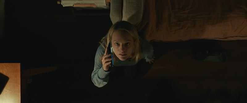 "Elisabeth Moss stars as a woman terrorized by an unseen force she believes to be her abusive ex in ""The Invisible Man."""