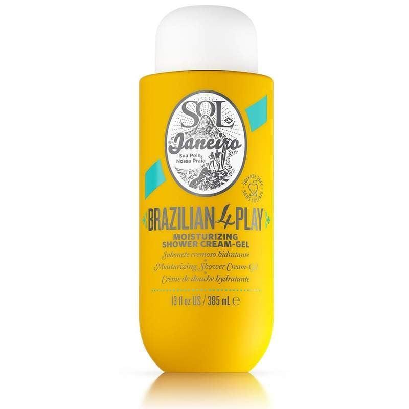 <p>With its blend of Amazonian butter and coconut oil, the <span>Sol de Janeiro Brazilian 4 Play Moisturizing Shower Cream</span> ($25) is a gentle, tropical-scented cleanser that'll have you stepping out of your bathroom with supermodel-soft skin.</p>