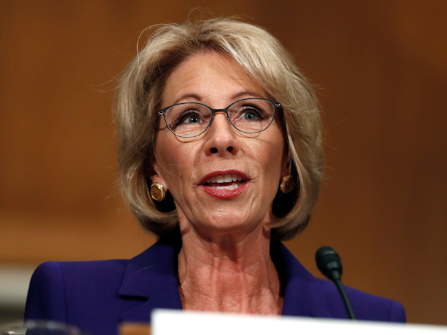 After Devos Vote Fight For Public >> Betsy Devos Confirmed As Secretary Of Education After Historic