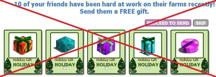 No more Holiday Gifts for you