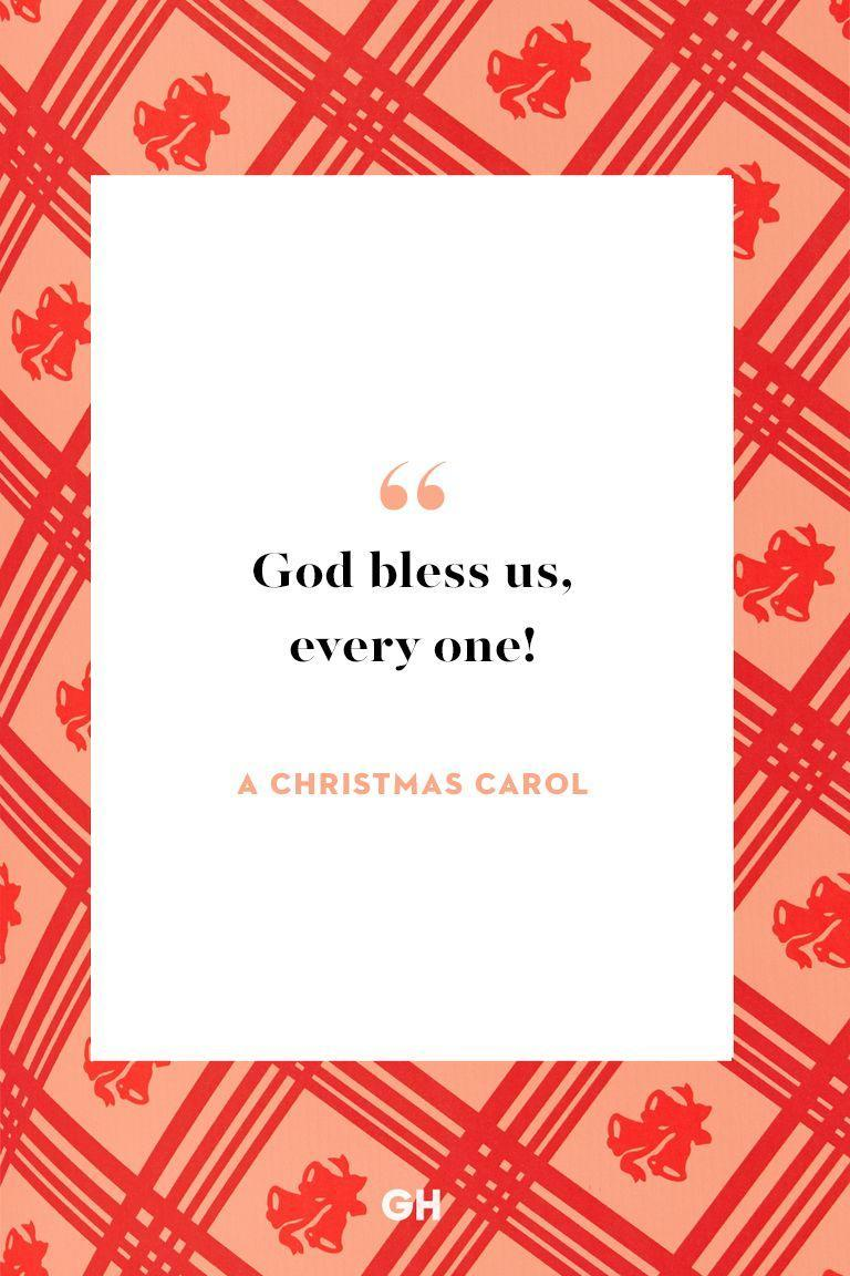 <p>God bless us, every one!<br></p>