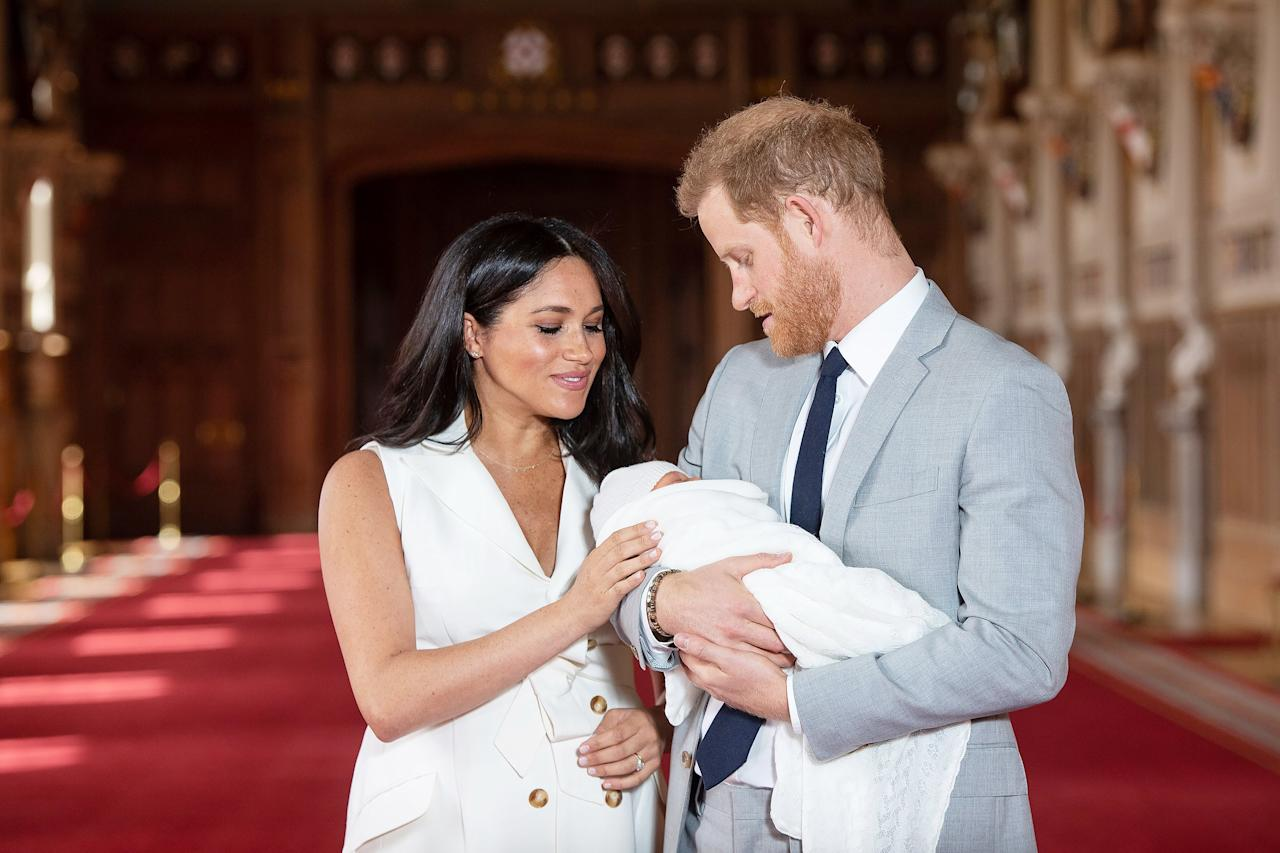 """It's been the most amazing experience I could ever possibly imagine,"" Harry said just hours after Archie's birth. ""How any woman does what they do is beyond comprehension. But we're both absolutely thrilled and so grateful to all the love and support from everybody out there. It's been amazing, so we just wanted to share this with everybody."""
