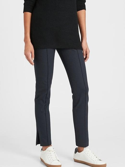 <p>It's no wonder that the <span>Banana Republic High-Rise Sloan Legging</span> ($90) is a Banana Republic best seller. Comfortable and tailored they're perfect for your go-to daily pants!</p>