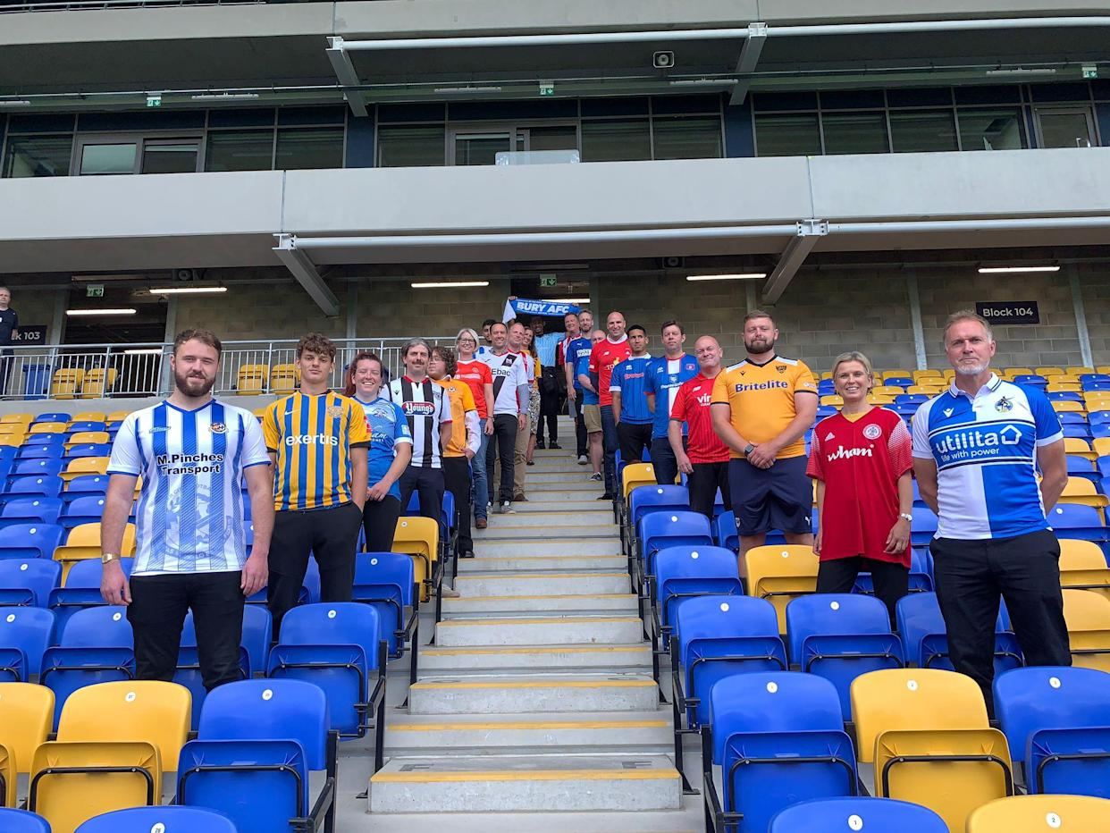 More than 20 EFL and National League clubs have become 'Fair Game clubs' (Fair Game/Handout)