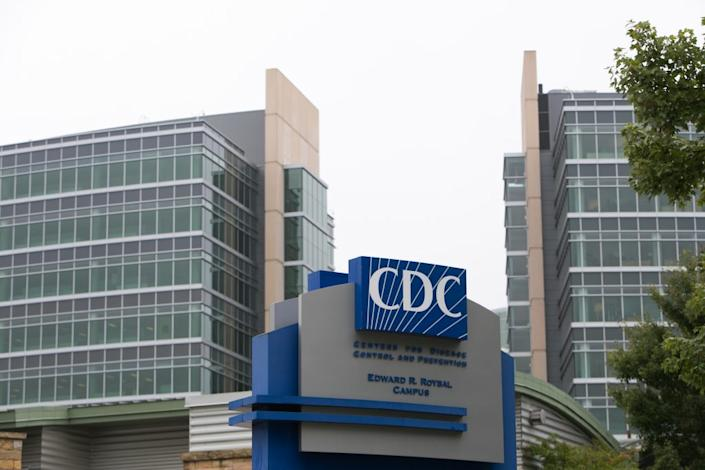 Exterior of the Center for Disease Control (CDC) headquarters is seen on October 13, 2014 in Atlanta, Georgia. Frieden urged hospitals to watch for patients with Ebola symptoms who have traveled from the tree Ebola stricken African countries. (Photo by Jessica McGowan/Getty Images)