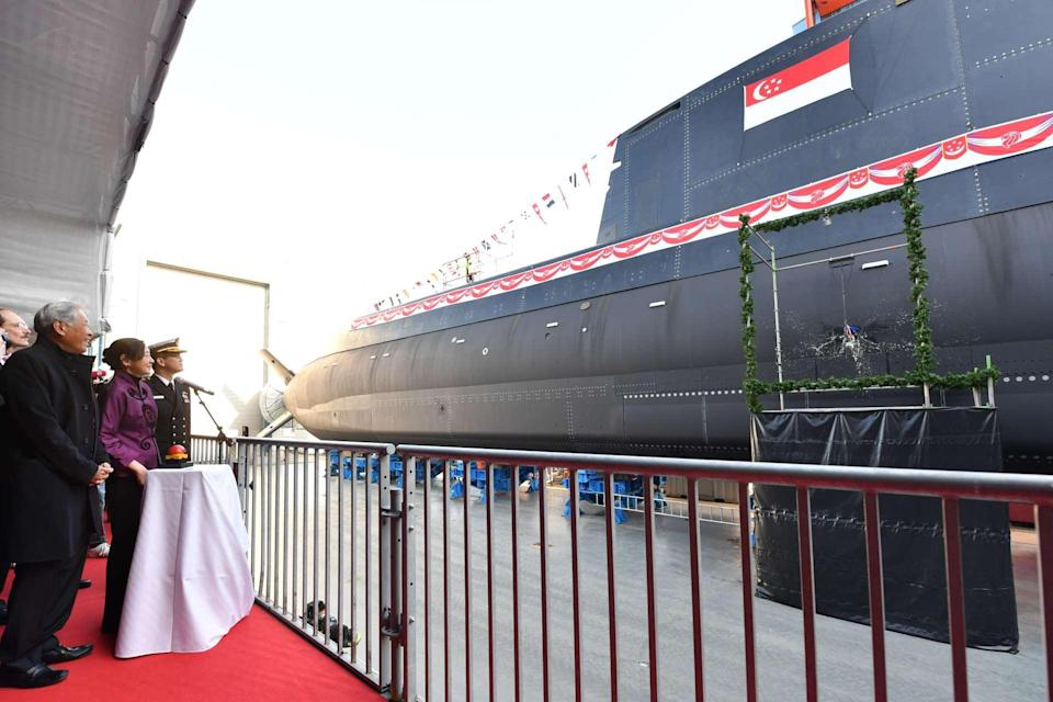 """Mindef will replace its current submarine fleet with four new """"Invincible""""-class submarines – the first of which was launched recently in Germany."""