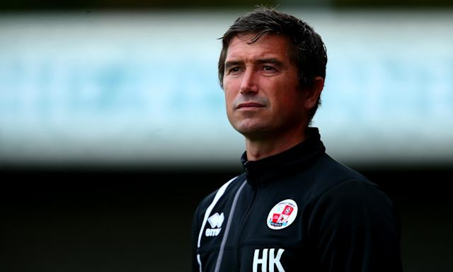 'When I started playing football I had this fire, this burning desire of 'wow I love this',' says Crawley Town manager Harry Kewell.