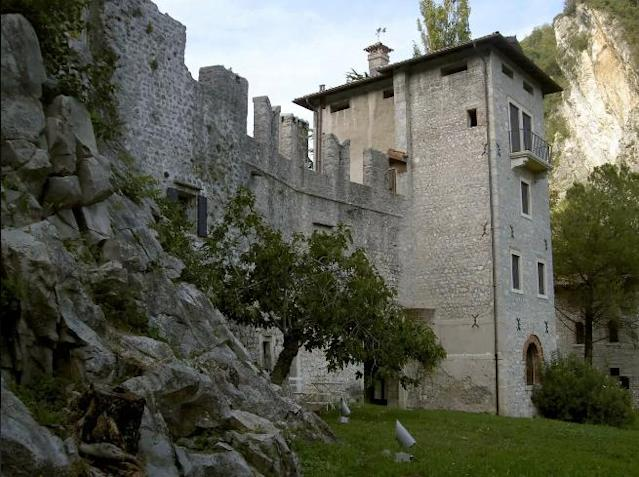 <p>You can have a two-bedroom apartment in the Castrum of Serravalle, a medieval fortress in northeastern Italy, for $250 a night. </p>
