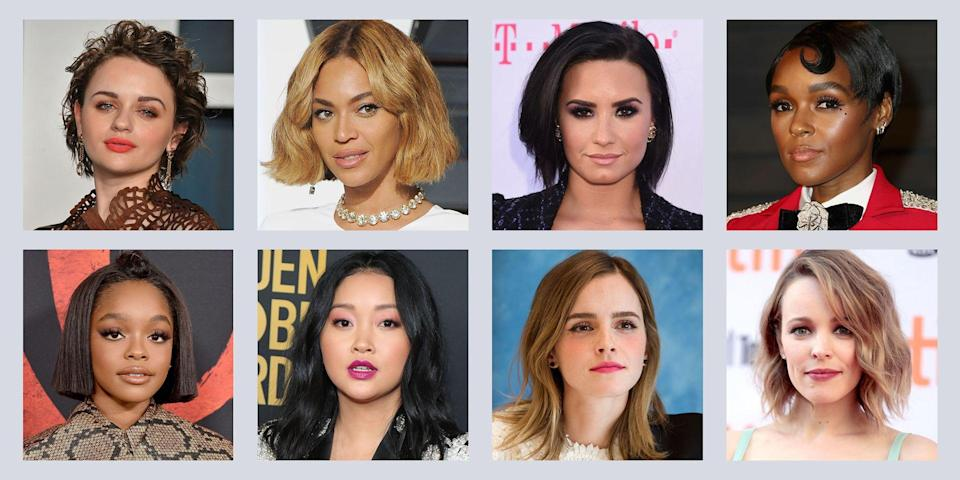 "<p>From pixie cuts to asymmetrical bobs, basically every celeb is chopping their hair right now and now, I'm itching to do the same. It's a <a href=""https://www.seventeen.com/beauty/hair/g2923/girls-before-and-after-hair-cut/"" rel=""nofollow noopener"" target=""_blank"" data-ylk=""slk:dramatic hair transformation that will change your life"" class=""link rapid-noclick-resp"">dramatic hair transformation that will change your life</a>. Long hair's cool, but short hair of all styles are trending in 2020. Sometimes people hide behind their long locks, but short hair forces you to completely own your confidence. A super short haircut is blunt, bold, and sends the message that you're not to be messed with. </p><p>It's a total misconception that short hair isn't as easily styled as long hair. It just takes a little more research to find what short hairstyles are perfect for you. Are you more of a pixie babe or a <a href=""https://www.seventeen.com/beauty/hair/a28702529/how-to-curl-short-hair-tutorials/"" rel=""nofollow noopener"" target=""_blank"" data-ylk=""slk:ringlet glam goddess"" class=""link rapid-noclick-resp"">ringlet glam goddess</a>? If you're thinking about <a href=""https://www.seventeen.com/beauty/hair/a29390949/how-often-should-you-cut-your-hair/"" rel=""nofollow noopener"" target=""_blank"" data-ylk=""slk:cutting off all your hair"" class=""link rapid-noclick-resp"">cutting off all your hair</a>, take some major inspiration from the stars that are currently owning the short hair game. Here are some of the best short haircuts and hairstyles to copy.</p>"