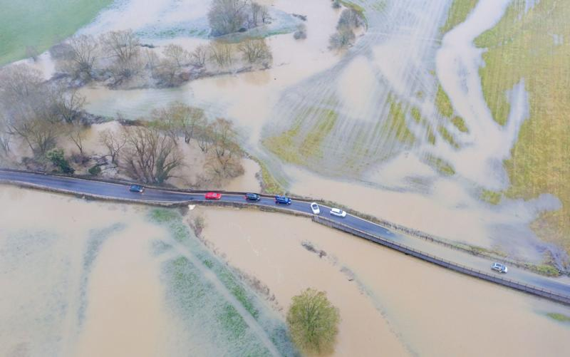 Flooding in Wiltshire - Lee Thomas