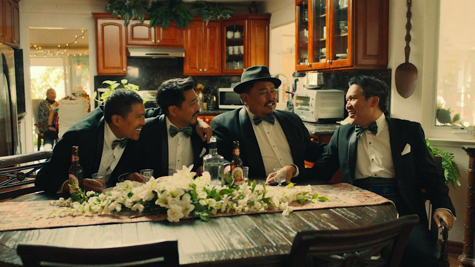 Basco directs and stars alongside his brothers in the semi-autobiographical feature film The Fabulous Filipino Brothers (Photo: Courtesy SXSW Festival)