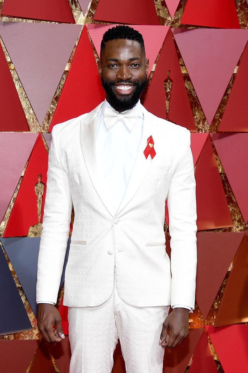 <p>Screenwriter Tarell Alvin McCraney attends the 89th Annual Academy Awards at Hollywood & Highland Center on February 26, 2017 in Hollywood, California. (Photo by Kevork Djansezian/Getty Images) </p>