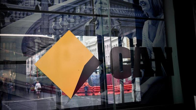 Commonwealth Bank has posted a 5.7 per cent fall in first-quarter unaudited cash profit