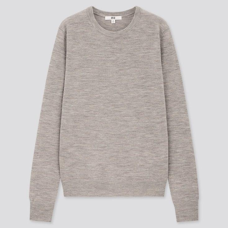 """<h2>Uniqlo Extra Fine Merino Crew Neck Sweater</h2><br>""""I live in crewneck sweaters during the fall and winter, and Uniqlo is a great place to grab a few new ones each season. They're always really reasonably priced, great quality, and come in a nice range of colors and cuts. I'll usually size up for a more relaxed and oversized look."""" – <em>Kate Spencer</em>, <em>Creative & Updates Editor</em><br><br><em>Shop <a href=""""http://uniqlo.com/"""" rel=""""nofollow noopener"""" target=""""_blank"""" data-ylk=""""slk:Uniqlo"""" class=""""link rapid-noclick-resp"""">Uniqlo</a></em><br><br><strong>Uniqlo</strong> EXTRA FINE MERINO CREW NECK SWEATER, $, available at <a href=""""https://go.skimresources.com/?id=30283X879131&url=https%3A%2F%2Fwww.uniqlo.com%2Fus%2Fen%2Fwomen-extra-fine-merino-crew-neck-sweater-428855.html%3Fdwvar_428855_color%3DCOL04"""" rel=""""nofollow noopener"""" target=""""_blank"""" data-ylk=""""slk:Uniqlo"""" class=""""link rapid-noclick-resp"""">Uniqlo</a>"""