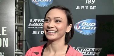 Michelle Waterson Stops Paige VanZant in the Opening Round