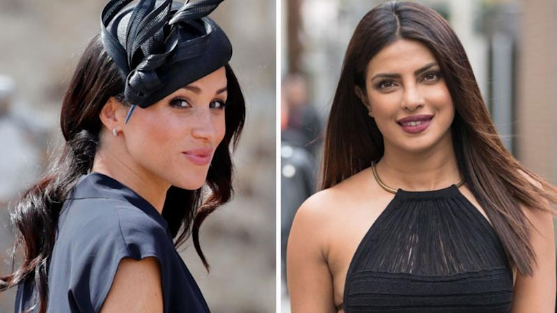 Will Meghan Markle attend her Hollywood friend Priyanka Chopra and Nick Jonas's wedding this weekend? Source: Getty