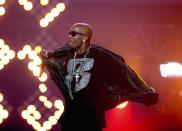 FILE- DMX performs during the BET Hip Hop Awards in Atlanta on Oct. 1, 2011. The rapper will be mourned at a memorial with family and close friends at the Barclays Center in New York on Saturday. The event will be closed to the public due to pandemic conditions. (AP Photo/David Goldman, File)