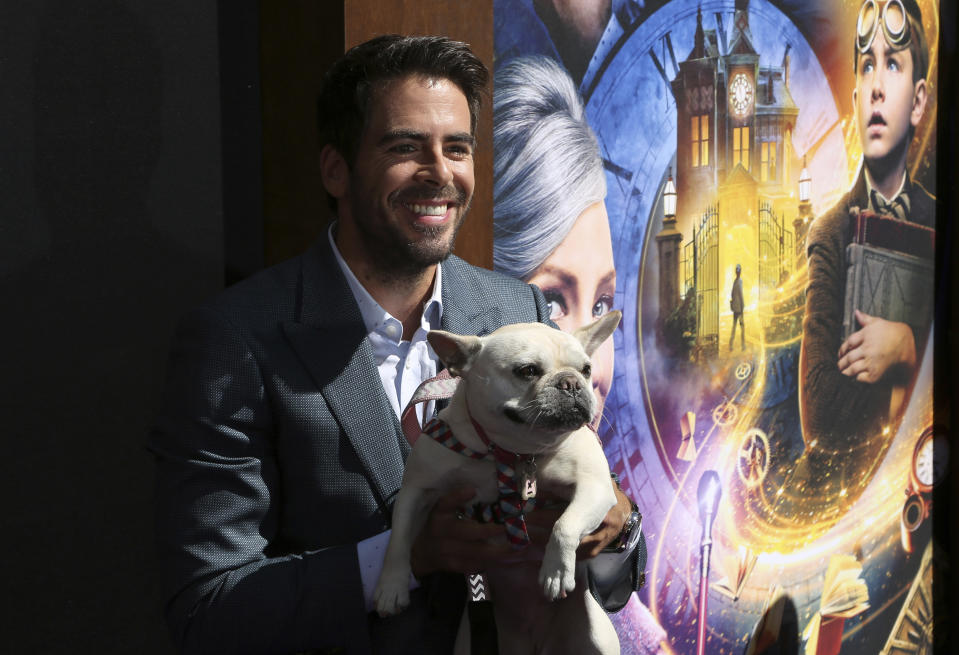 """Director Eli Roth arrives at the LA Premiere of """"The House with a Clock in its Walls"""" at the TCL Chinese Theatre on Sunday, Sept. 16, 2018, in Los Angeles. (Photo by Willy Sanjuan/Invision/AP)"""