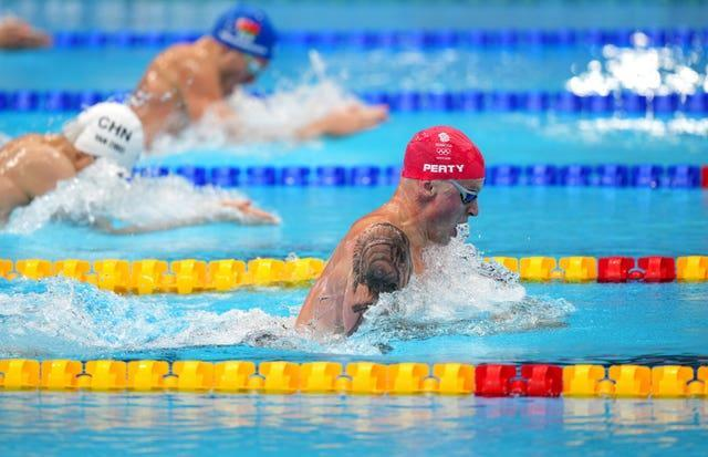 Adam Peaty will go for 100m breaststroke glory in Tokyo on Monday