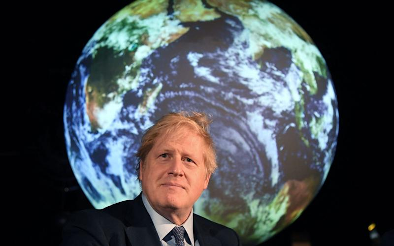 The prime minister was speaking at a UN climate event - AFP