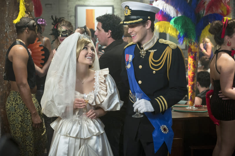 """Fright Night"" -- AnnaSophia Robb as Carrie and Brendan Dooling as Walt"