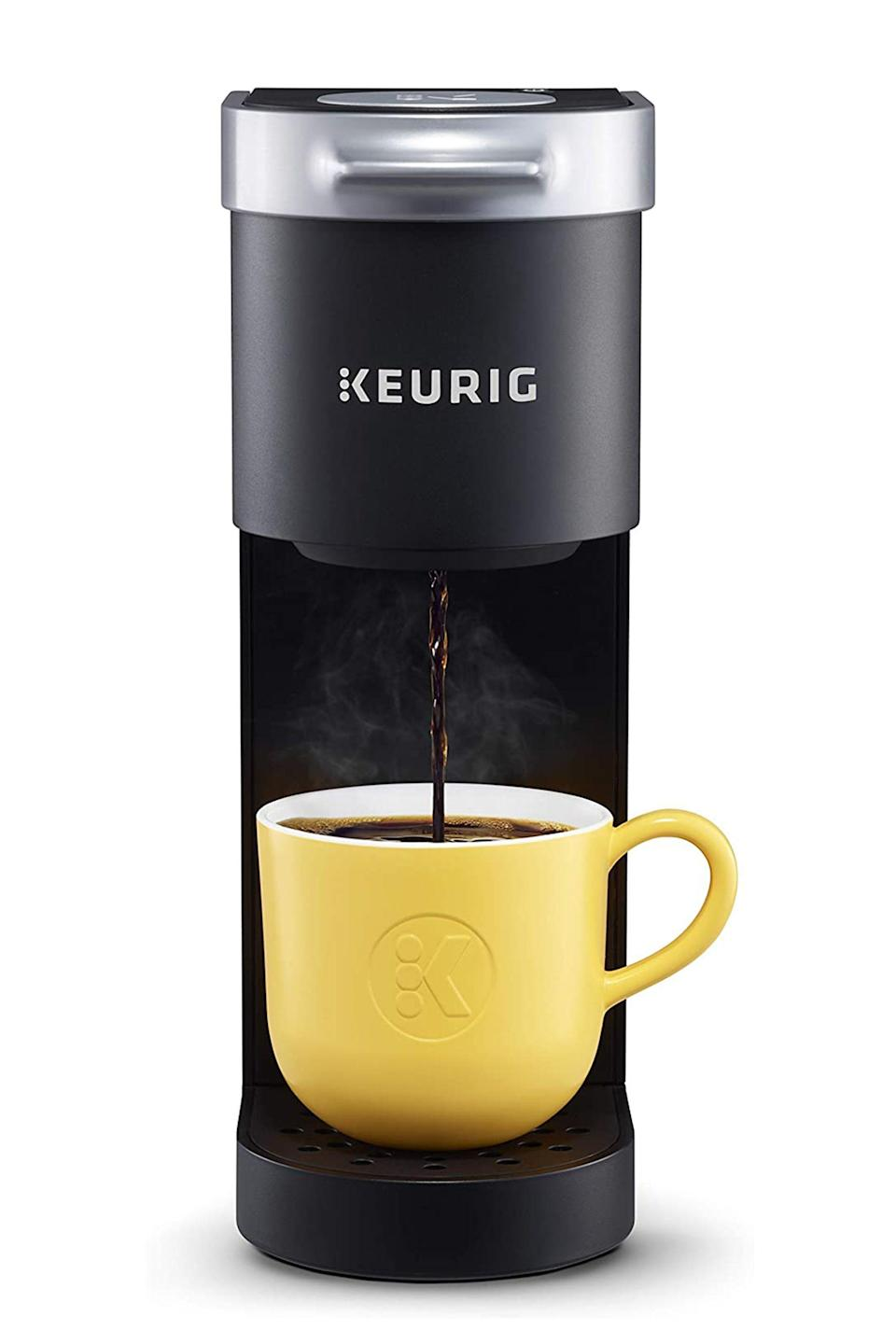 "<p><strong>Keurig</strong></p><p>amazon.com</p><p><strong>$77.90</strong></p><p><a href=""https://www.amazon.com/dp/B07GV2S1GS?tag=syn-yahoo-20&ascsubtag=%5Bartid%7C10051.g.34208929%5Bsrc%7Cyahoo-us"" rel=""nofollow noopener"" target=""_blank"" data-ylk=""slk:Shop Now"" class=""link rapid-noclick-resp"">Shop Now</a></p><p>An instant cup of coffee without them having to leave their home. </p>"