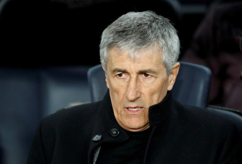 Valencia test excites Barca coach Setien