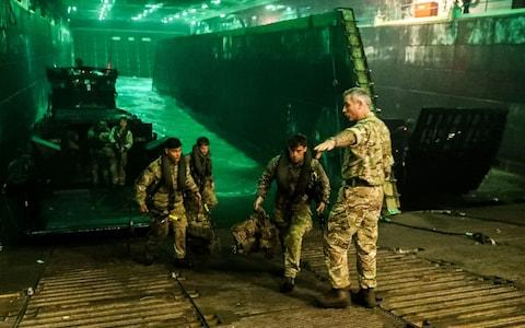 Royal Marines preparing for a Nato exercise in Denmark - Credit: Paul Hall