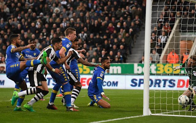 <span>Newcastle drew 1-1 with Leeds on Friday</span> <span>Credit: Getty images </span>