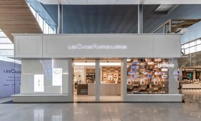 Mo & # xeb; t Hennessy inaugurates a new contemporary concept for & # x00201c; Les Caves Particuli & # xe8; res & # x00201d;, at Paris-Charles de Gaulle airport