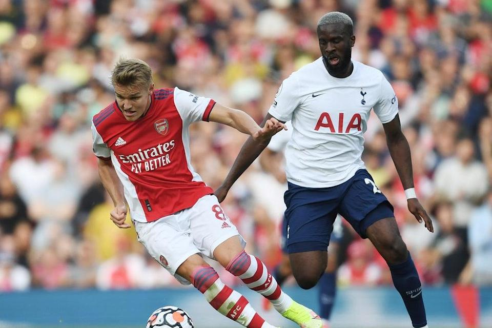 Arsenal brushed aside Tottenham 3-1 in the latest north London derby (Arsenal FC via Getty Images)