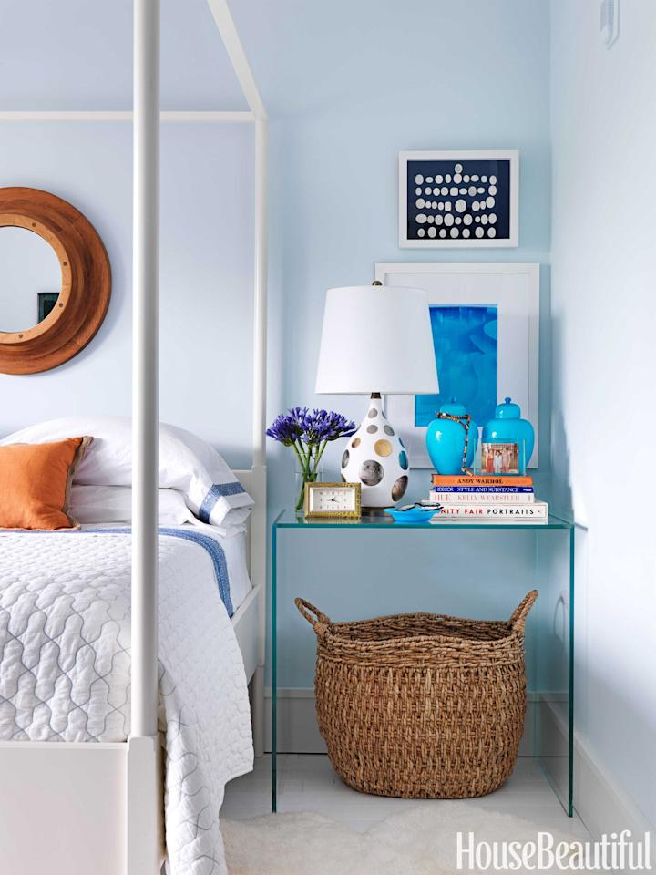 "<p>Creating a calming space you actually <em>want</em> to come home and relax in is about more than just comfy furniture. If your walls are a <a rel=""nofollow"" href=""https://www.housebeautiful.com/room-decorating/colors/g612/purple-paint-color-shades/"">loud, vibrant, or just plain crazy color</a>, it's going to do nothing for your stress level. But you don't have to resign yourself to boring white (ew). Take some inspiration from these calming rooms  -  they might inspire you to pick up the paint brush and mellow out. </p>"