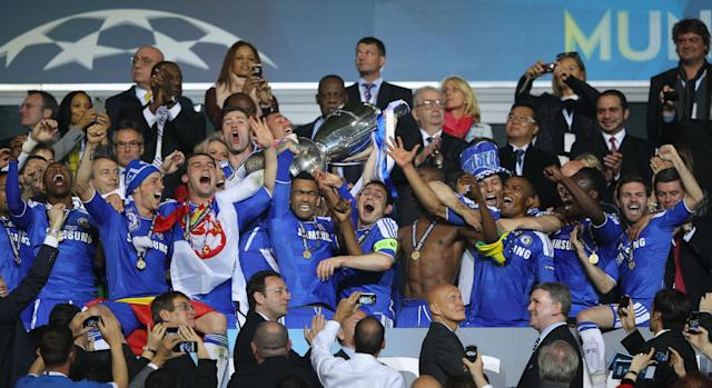 "<a class=""link rapid-noclick-resp"" href=""/soccer/teams/chelsea/"" data-ylk=""slk:Chelsea"">Chelsea</a>'s Champions League title in 2012 represents the last time an English team even won a semifinal. (Getty)"