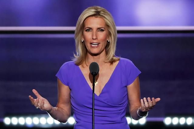 Laura Ingraham speaking at the Republican National Convention in summer 2016. (Photo: Alex Wong/Getty Images)