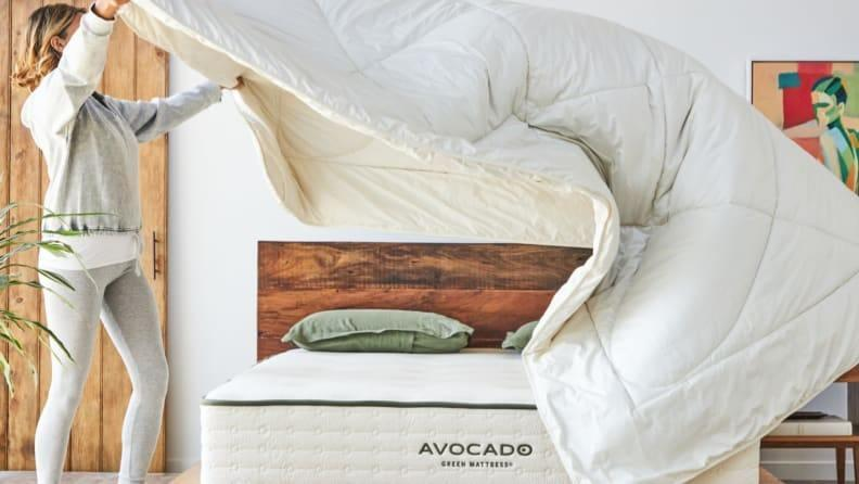 Save up to $250 on Avocado's plush mattresses right now.
